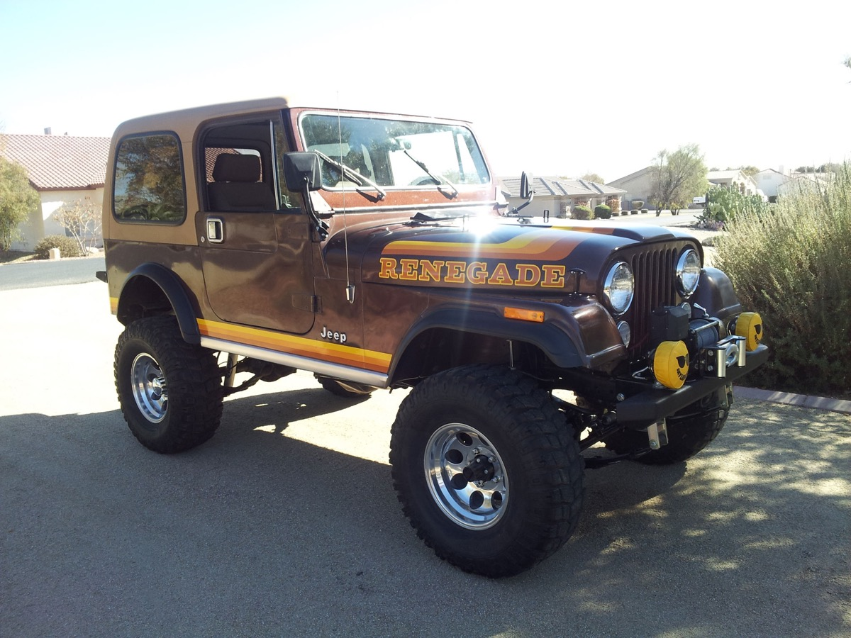 Jeep Renegade With Lift >> 1982 Jeep CJ7 Renegade – The Jeep Farm