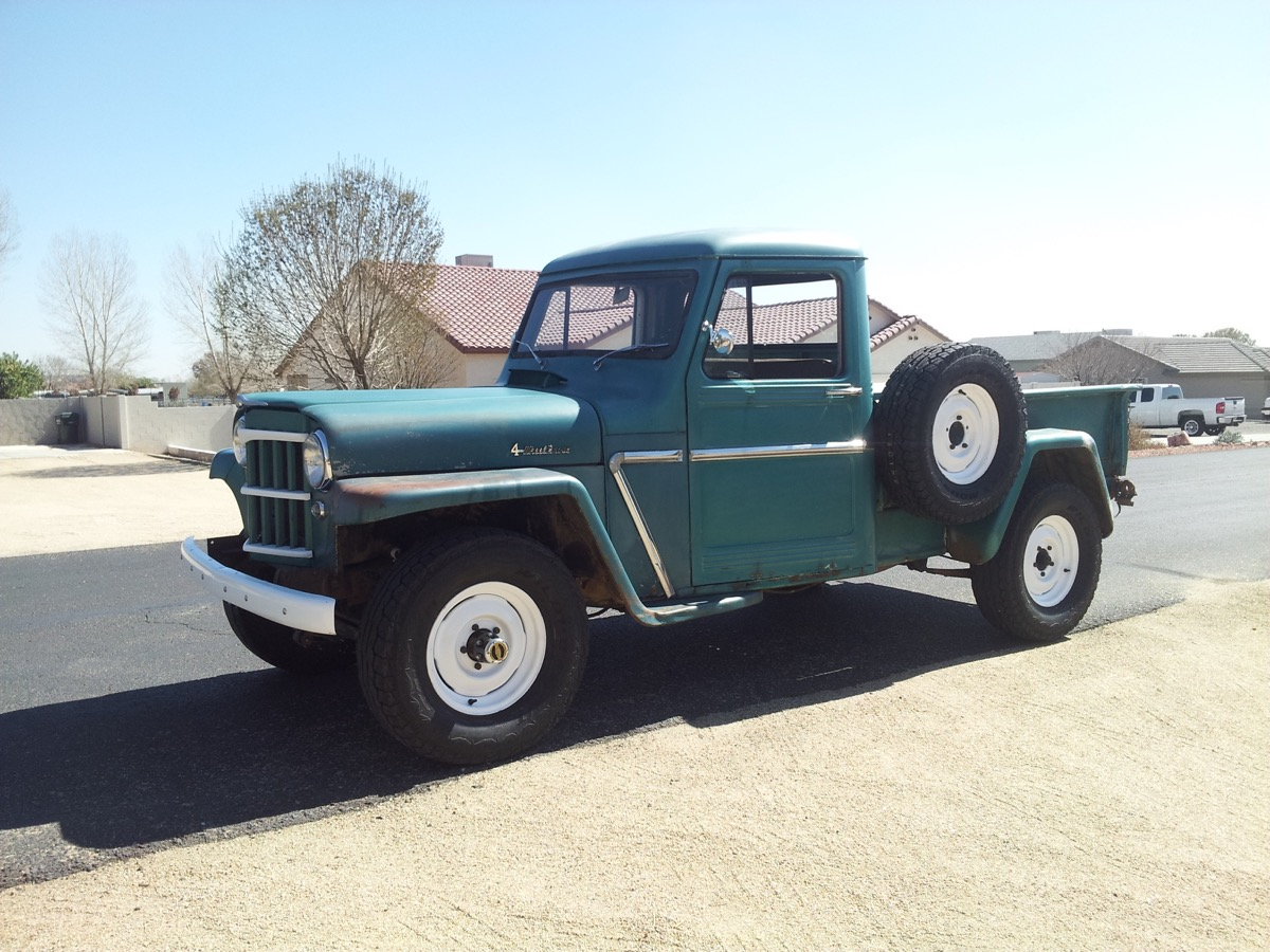 Used Tires Colorado Springs >> 1960 Willys PickUp – The Jeep Farm