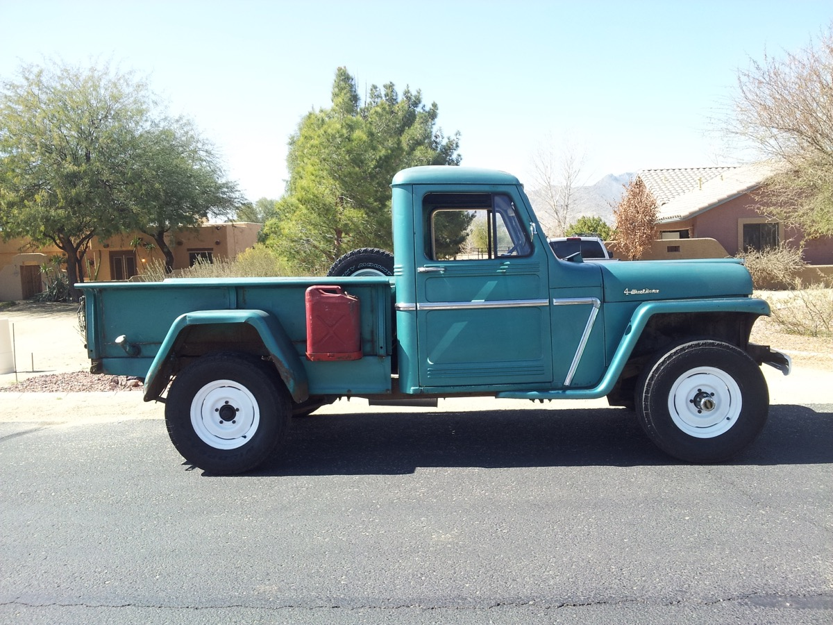 1960 Willys Pickup The Jeep Farm
