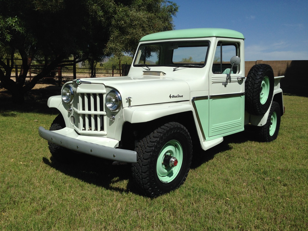 1962 willys pick up the jeep farm. Black Bedroom Furniture Sets. Home Design Ideas