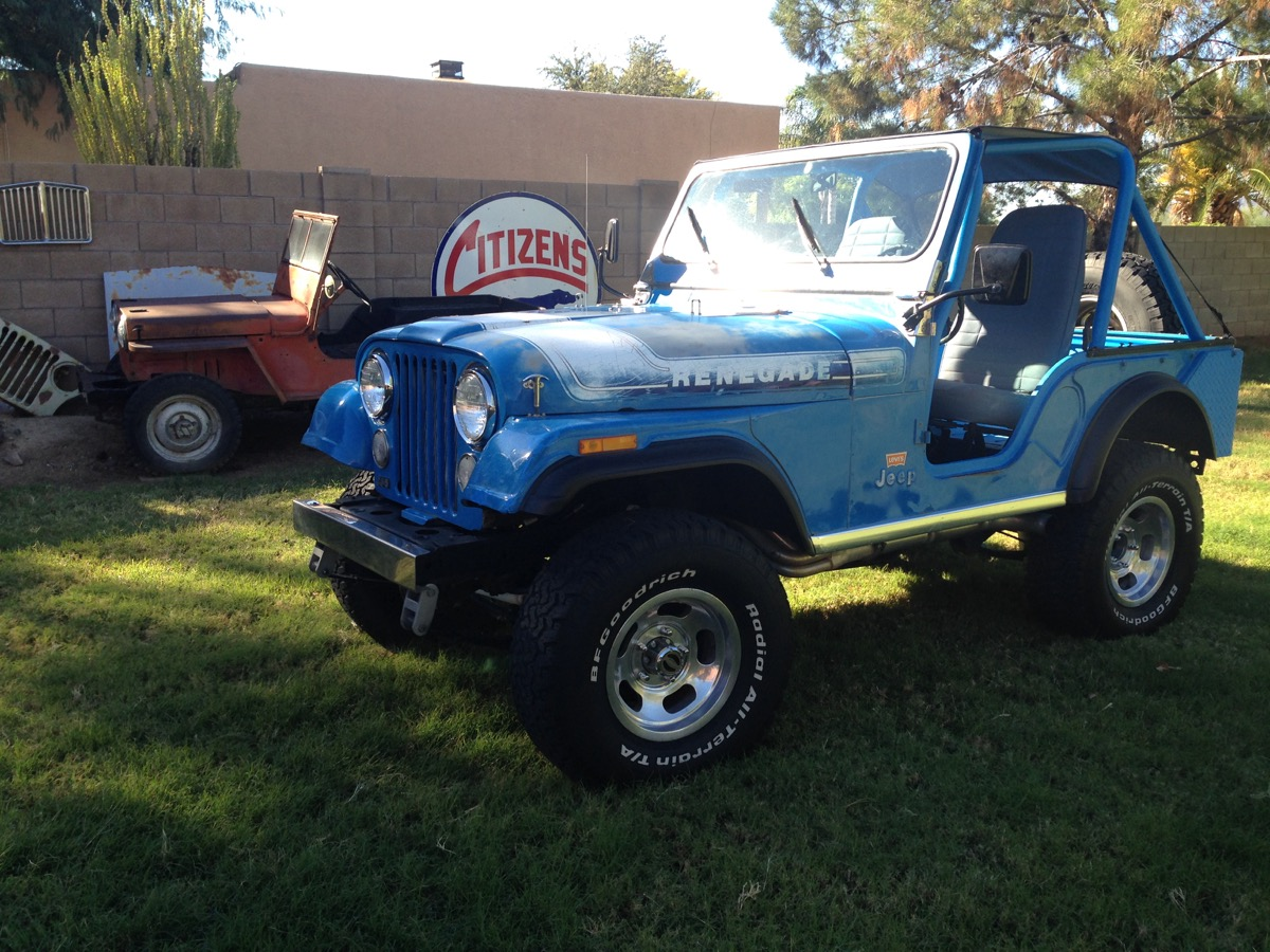 1976 Renegade Levis Edition – The Jeep Farm